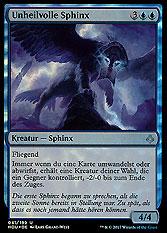Unheilvolle Sphinx
