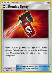 Quälendes Spray