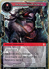 Drachenmensch-Schurke