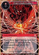 Feuer-Zauberwappen