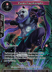 Panda-Faustkämpfer