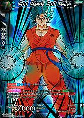 God Break Son Goku