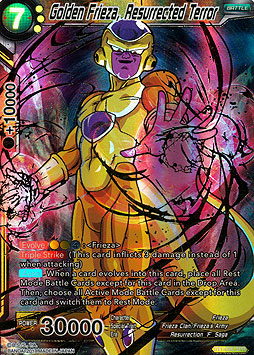 Golden Frieza, Resurrected Terror