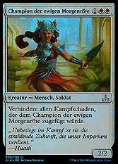 Champion der ewigen Morgenröte