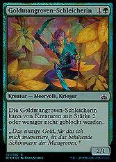 Goldmangroven-Schleicherin