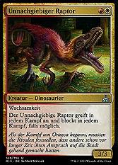 Unnachgiebiger Raptor