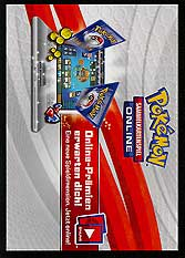 Pokemon Online Code Card Booster