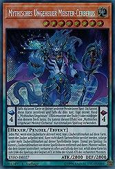 Mythisches Ungeheuer Meister-Cerberus