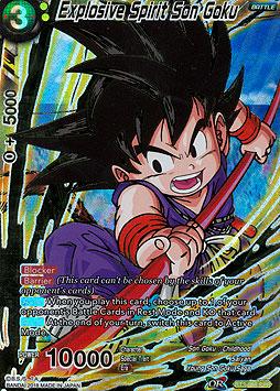 Explosive Spirit Son Goku