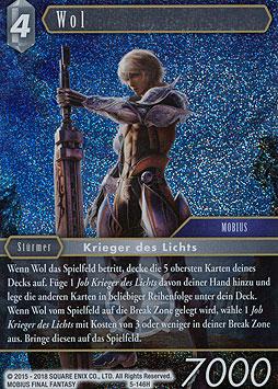 Wol Opus 5 Boosterserien Einzelkarten Final Fantasy MAWO CARDS