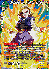 Android 18, Full of Ra...