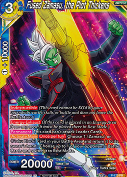 Fused Zamasu, the Plot Thickens