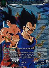 Son Goku & Vegeta, Sai...