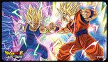 August 2018 Vegeta vs Goku English | Unlimited