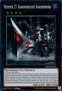 Nummer 27: Kanonenschiff Kanonennoid