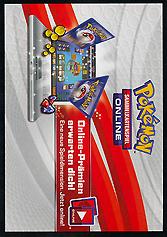 Pokemon Online Code Card