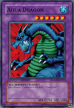 Aqua Dragon McDonald's Promotional Cards Promo-Karten Einzelkarten