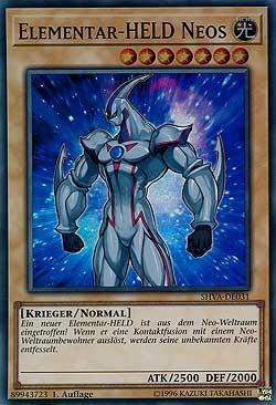 SHVA-DE034 Elementar-HELD Magma Neos Yu-Gi-Oh