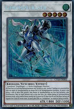 Yugioh 3x PGL3-DE002 Gerümpeländerer Secret Rare