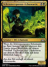 Schimmersporen-Schamanin