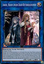 Isolde, Heldin zweier Edler Rittergeschichten