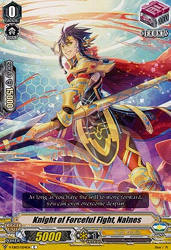 Knight of Forceful Fight, Nalnes