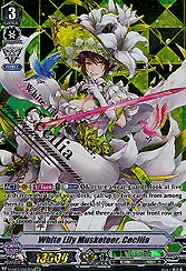 White Lily Musketeer, ...