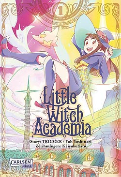 Band 1 Little Witch Academia German | Unlimited