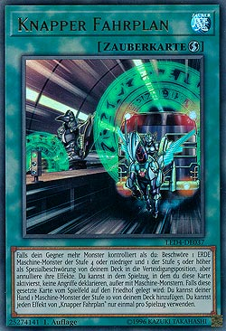Knapper Fahrplan Sisters of the Rose Legendary Collections Einzelkarten  Yu-Gi-Oh! MAWO CARDS