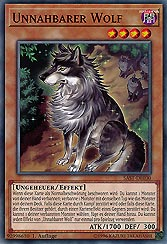 Unnahbarer Wolf