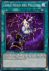 Linke Hand des Magiers