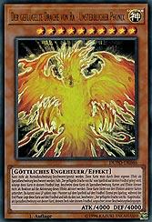 Der geflügelte Drache von Ra - Unsterblicher Phönix