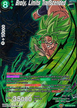 Broly, Limits Transcended