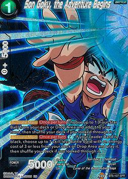 Son Goku, the Adventure Begins