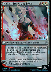 Nahiri Storm Of Stone Krieg Der Funken Boosterserien Einzelkarten Magic Mawo Cards