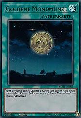 Goldene Mondmünze