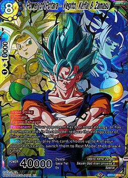 Power of Potara - Vegito, Kefla & Zamasu