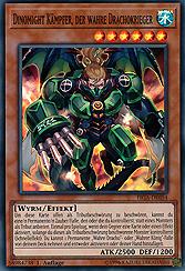 Dinomight Kämpfer, der wahre Drachokrieger