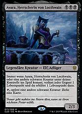 Ayara, Herrscherin von Locthwain