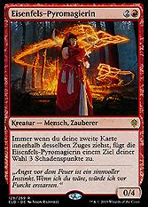 Eisenfels-Pyromagierin