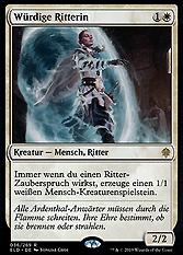 Würdige Ritterin