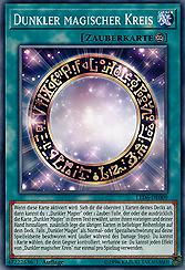 Dunkler magischer Kreis