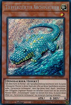 Tierverzierter Archosaurier