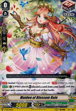 Maiden of Blossom Rain