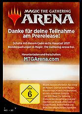 Arena Code Card Prerelease
