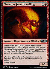 Chandras Feuerbrandling