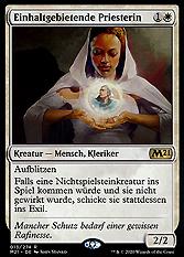 Einhaltgebietende Priesterin