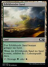 Erblühender Sand