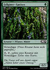 Fallgitter-Ranken