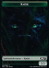Katze Spielmarke